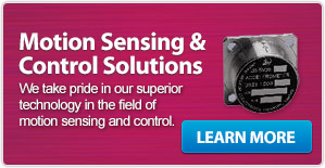 Motion Sensing & Control Solutions